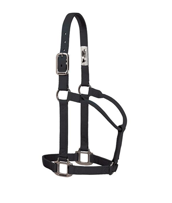TK35-7385-Average-Black Halter, Non adjustable Average