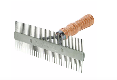 AC69-6073 Comb 2 Sided Wood Handle