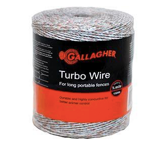 FEG620564 Gallagher Turbo Wire 400m+100m Wh