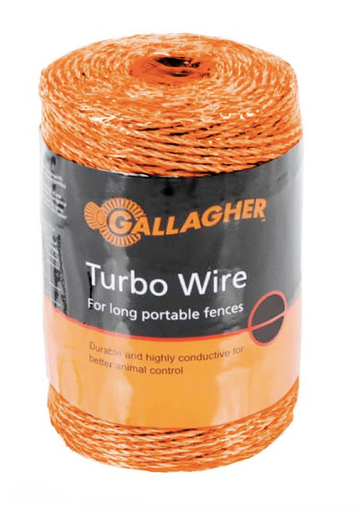 FEG620664 Gallagher Turbo Wire 400m ORANGE