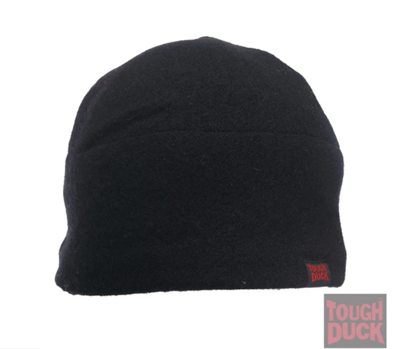 CLWA021 Toque Wool Black Tough Duck