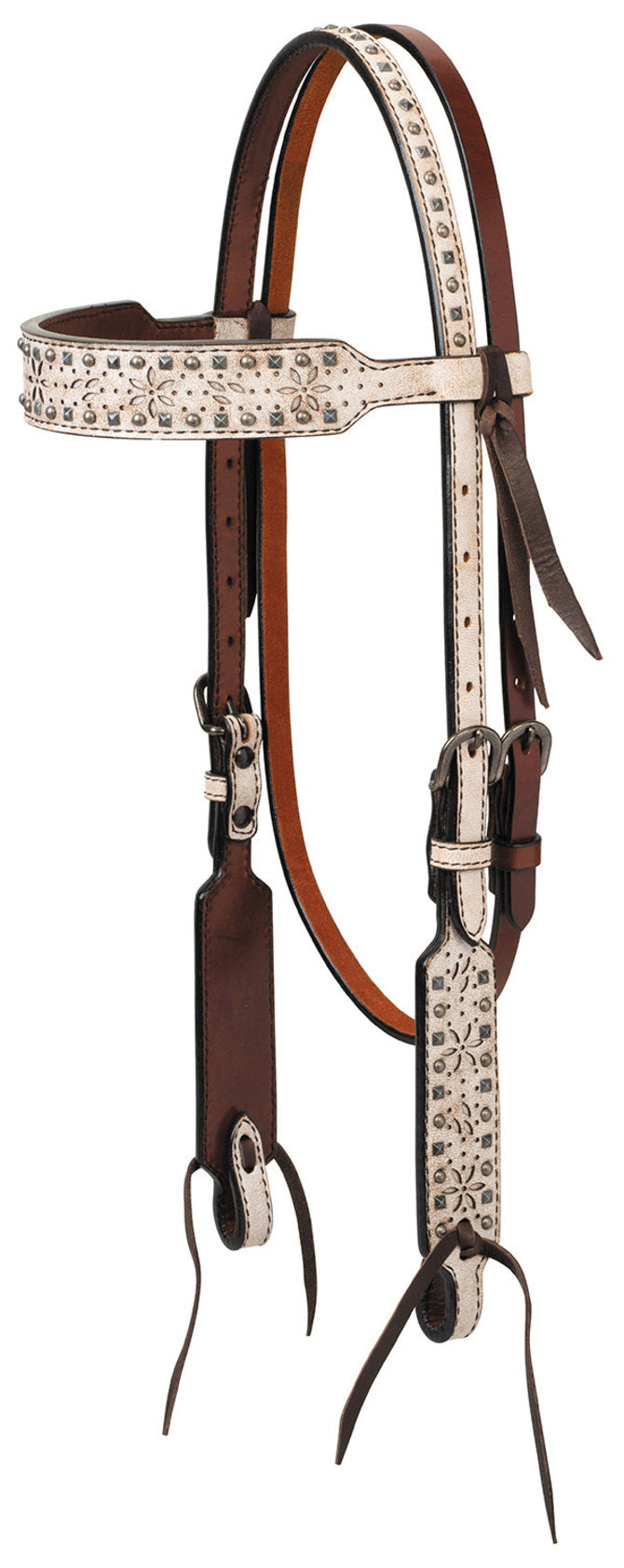 TK45001-01-00 Headstall Browband Snow Star