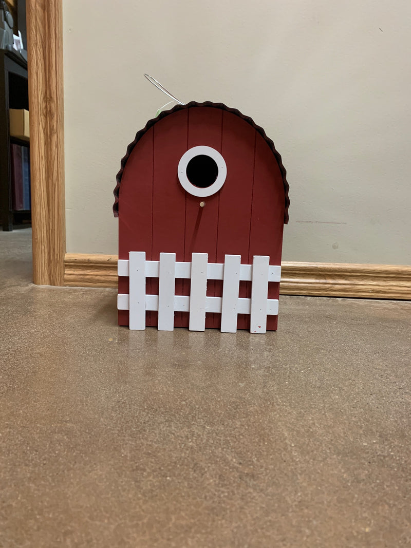 "HG2BH348 Bird House 10.5""H Farmhouse"