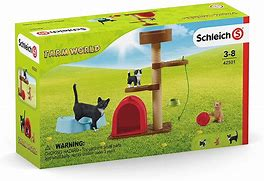 BGSCH42501 Farm World - Play time for Cats