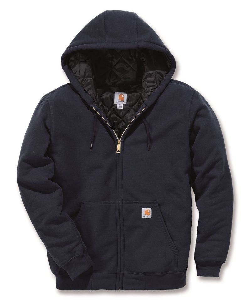 "CL100631-XL-Navy Carhartt Mens ""Avondale"" Hooded Sweatshirt"