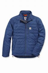 "CL102208-M-Navy Jacket Carhartt ""Gilliam"" Rain/Wind Resistant"