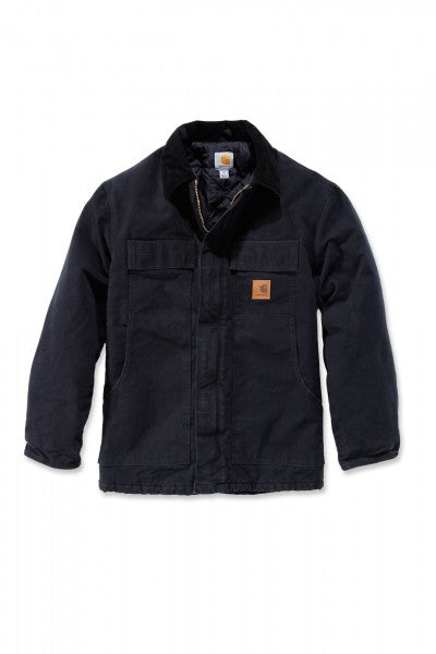 CL103283-L-Black Carhartt Jacket Full Swing Traditional