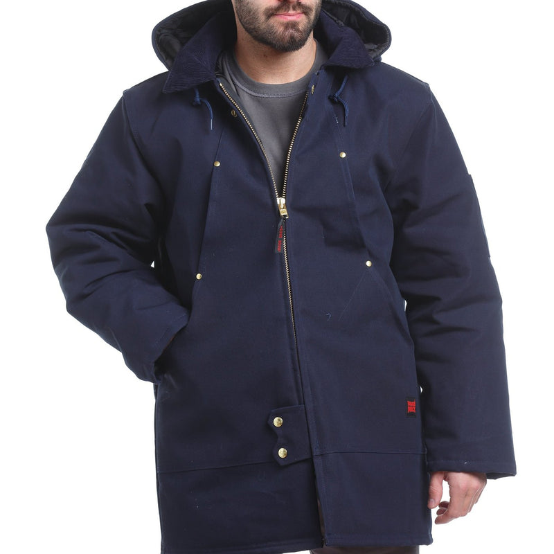 "CL1737-L-Navy Parka Hydro""Tough Duck"""