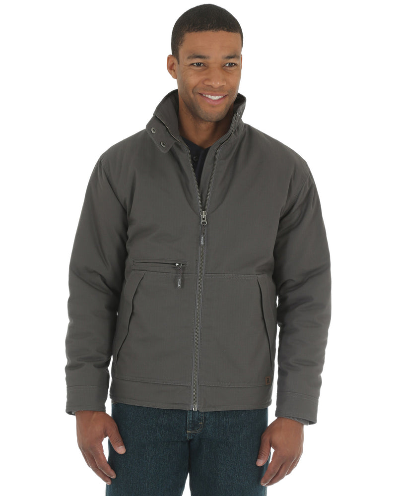 "CL3W182-LT-Charcoal Mens Ranger Jacket ""Riggs Workwear"""