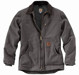 CLC61-XLTall-Gravel Carhart Men's Ridge Coat