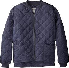 CL17X911-S-Navy Jacket Mens Work King Quilted Freezer