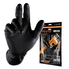 CL9916000P Glove Grippaz Black Nit. Dispos. 5 per plg