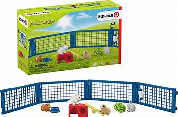 BGSCH42500 Farm World - Rabbit and Guinea Pig Hutch