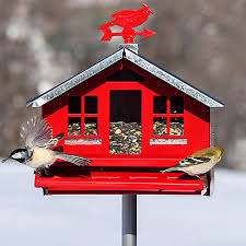PS850144D Bird Feeder Country Style Squirrel Be Gone