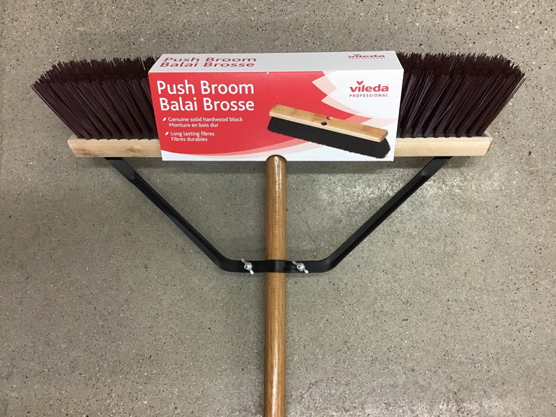 "HG2106 Broom Push 18"" Garage/Synthetic"