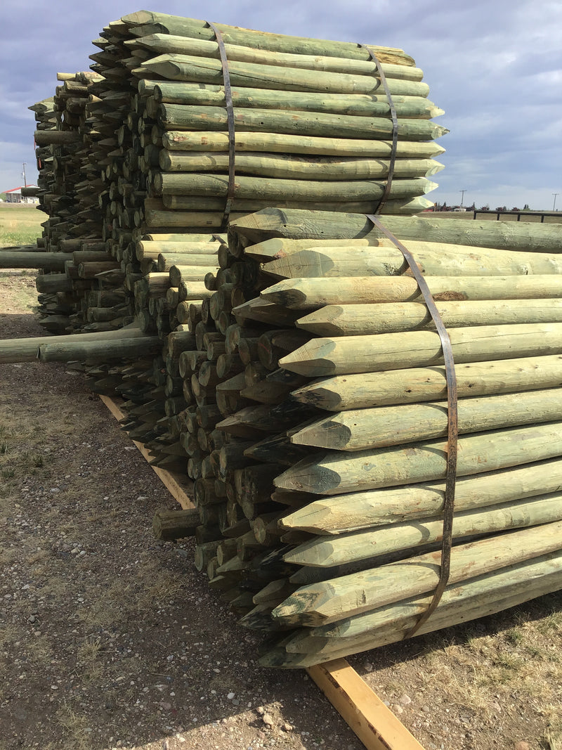 "FE346 Lehner Posts 3-4""x 6' Treated [Mixed Utility Bundle]"