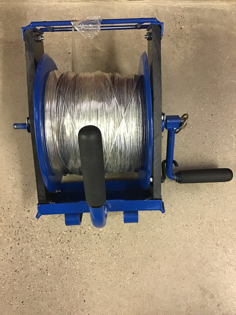 FE7LREEL&CABLE Reel - 7L Mini Power Reel - Manual or Powered & 3000ft Cable