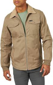 CLNSB62FR-XXL-Tan Mens All Terrain Gear Sherpa Lined Zip Jacket