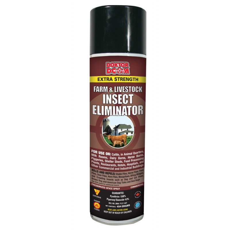 HG6303 Doktor Doom Livestock Insect Eliminator 650gm