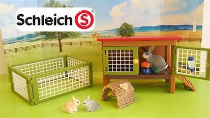 BGSCH42420 Farm World - Rabbit Hutch