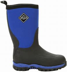 CLMBRG2-C8-Blk/Blue Muck Boot Kids Rugged II