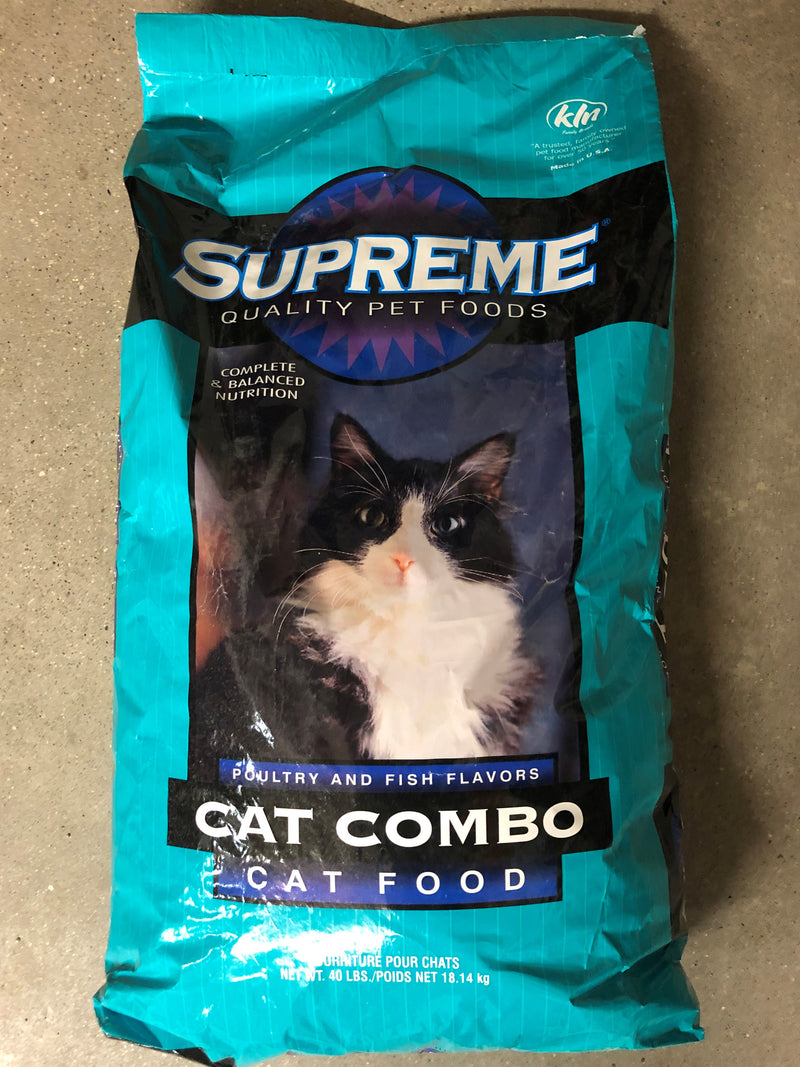 FSSUPREME Cat Food SUPREME 40lb bag