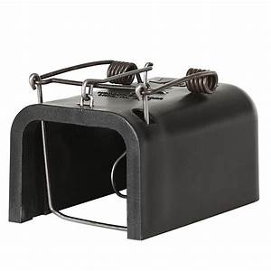 HG062 Gopher/Mole Box Trap Blk Plastic