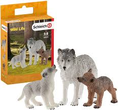 BGSCH42472 Wild Life - Mother Wolf & Pups