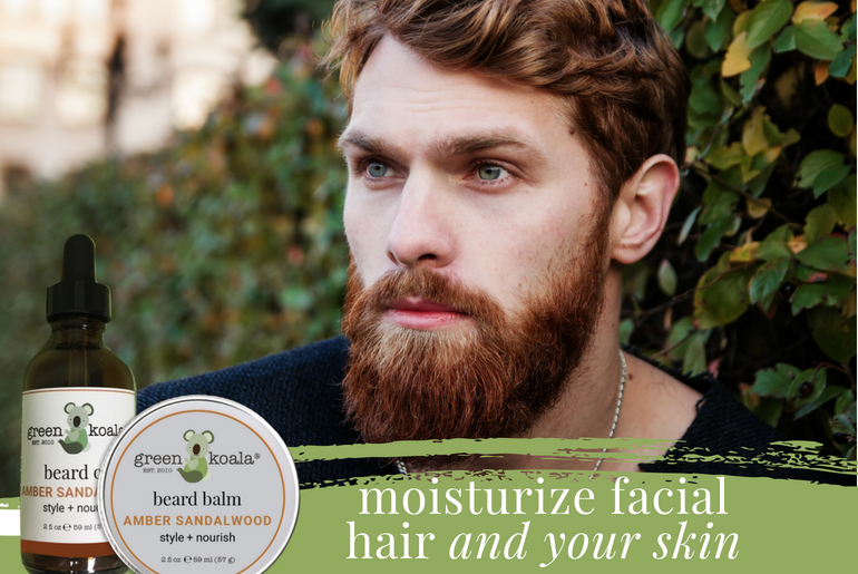 Green Koala Launches All-Natural Beard Oil & Beard Balm to Style, Nourish, and Groom Facial Hair Naturally