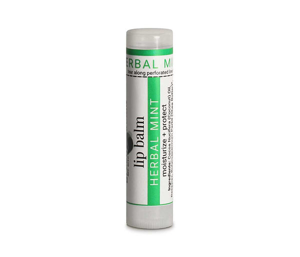 Organic Herbal Mint Lip Balm