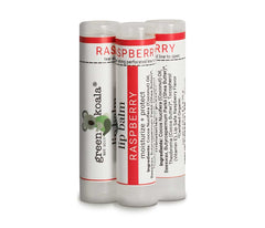 3-Pack Organic Raspberry Lip Balm