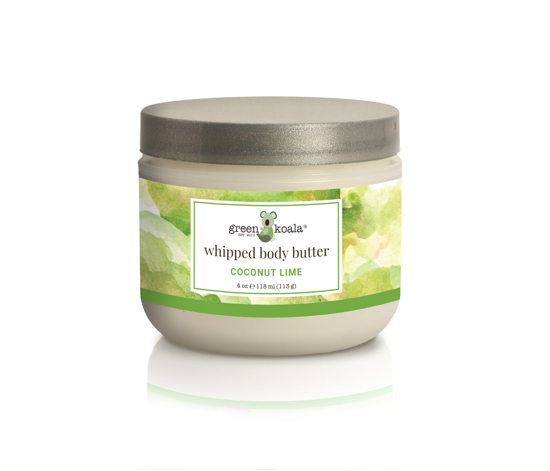 Organic Coconut Lime Nourishing Whipped Body Butter - 8 oz