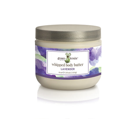 Organic Lavender Nourishing Whipped Body Butter - 8 oz
