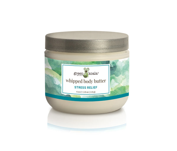 Organic Stress Relief Whipped Body Butter-8 oz