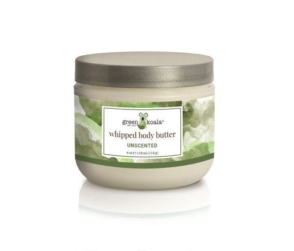 Organic Unscented Nourishing Whipped Body Butter - 4 oz