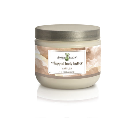 Vanilla Nourishing Whipped Body Butter - 4 oz
