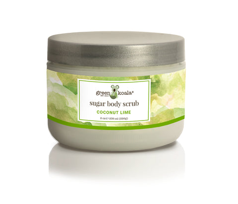 Green Koala Organic Coconut Lime Sugar Body Scrub