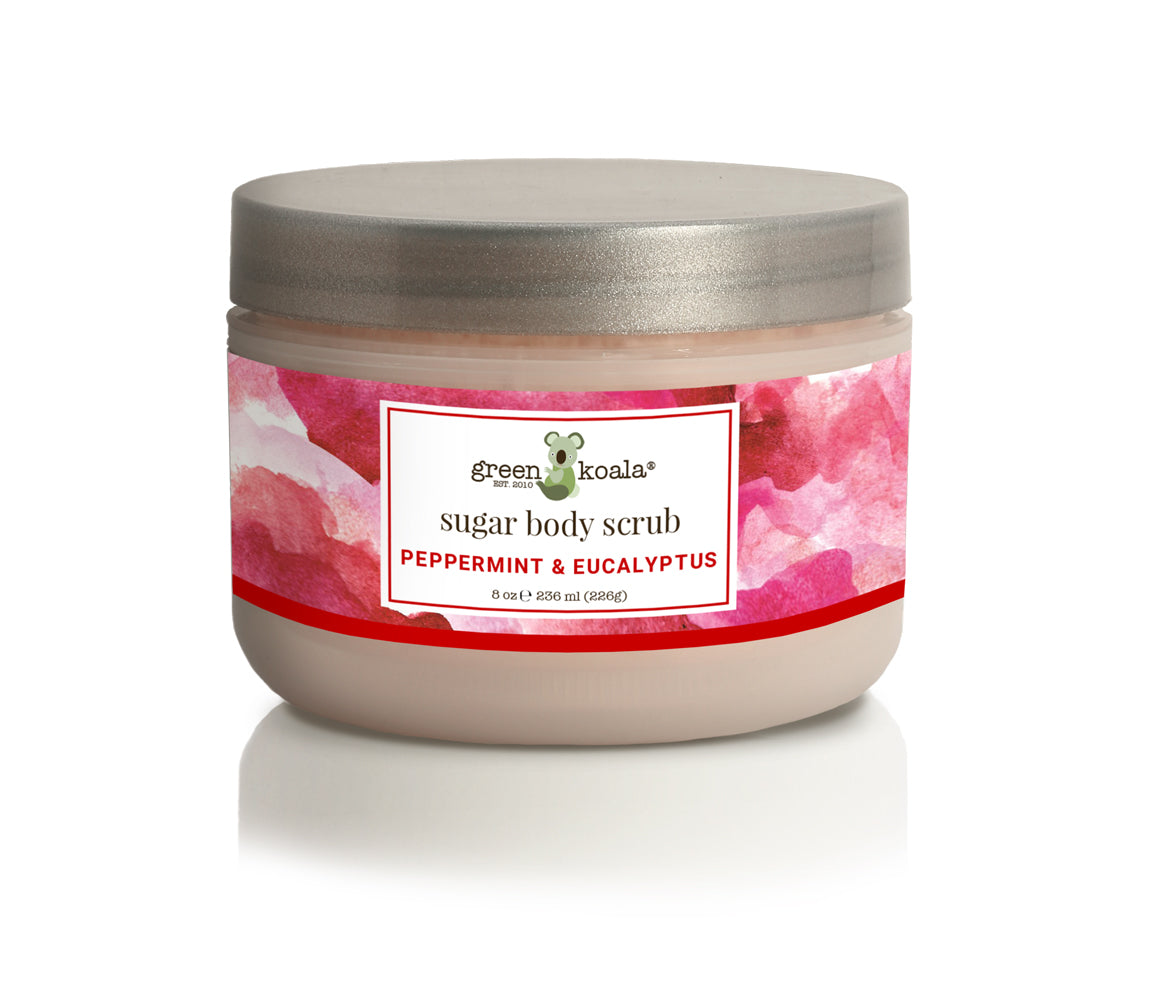 Green Koala Organic Peppermint & Eucalyptus Sugar Body Scrub