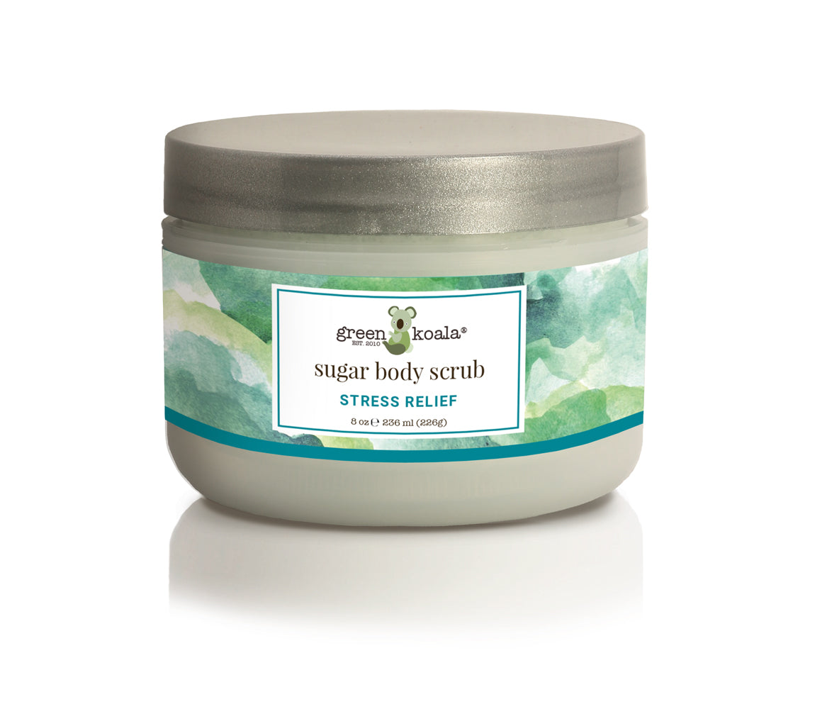 Green Koala Organic Stress Relief Sugar Body Scrub