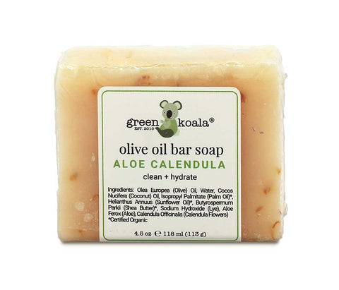 Green Koala Organic Aloe & Calendula Bar Soap