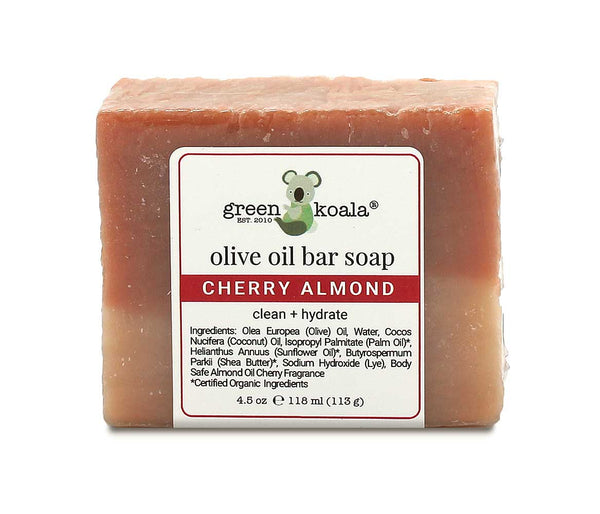 Green Koala Organic Cherry Almond Bar Soap