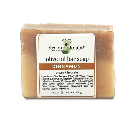 Green Koala Organic Cinnamon Bar Soap