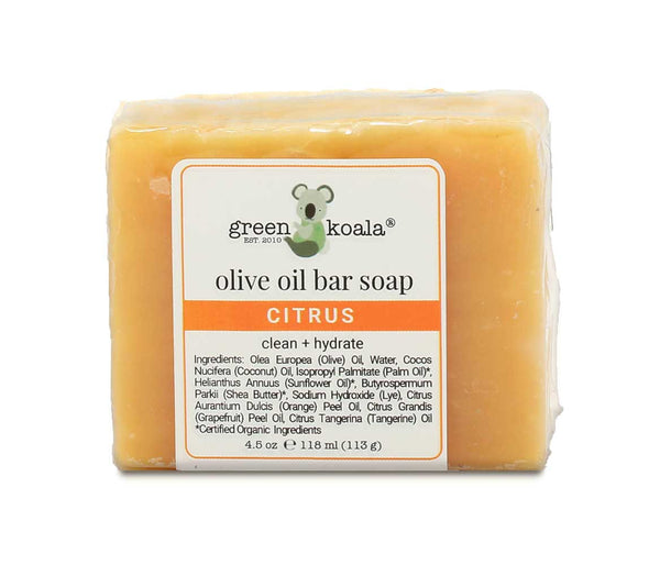 Green Koala Organic Citrus Bar Soap