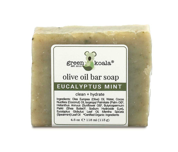 Green Koala Organic Eucalyptus Mint Bar Soap