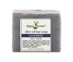 Green Koala Organic Lavender Bar Soap