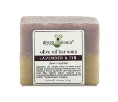Green Koala Organic Lavender & Fir Bar Soap