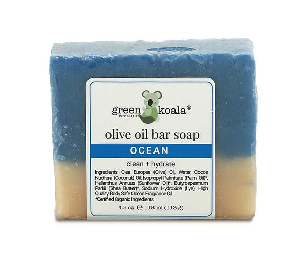 Green Koala Organic Ocean Bar Soap