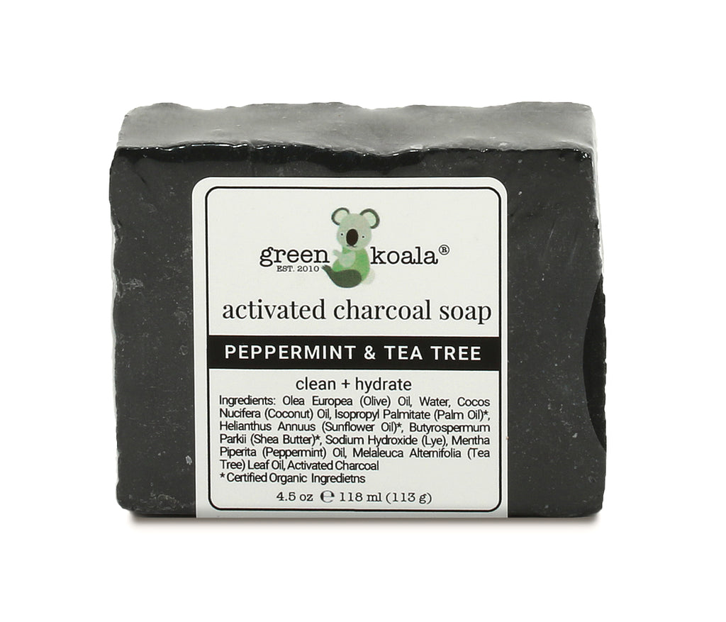 Organic Ingredients Handcrafted In Usa #1 Best Seller! Detox Charcoal Soap