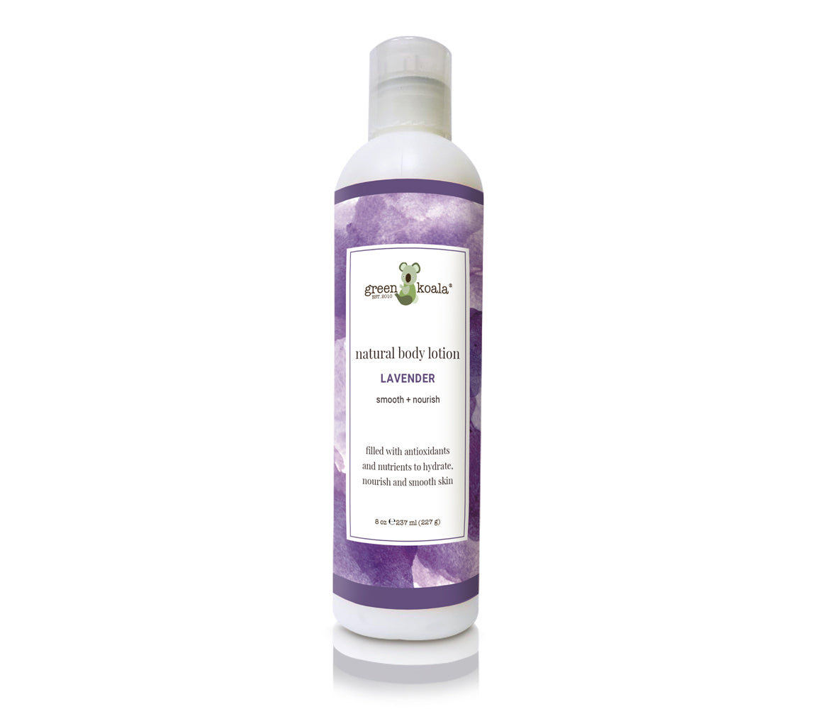 Green Koala Organic Lavender Face & Body Lotion
