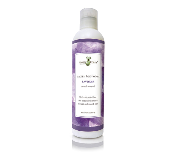 Green Koala Organic Lavender Natural Body Lotion